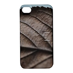 Leaf Veins Nerves Macro Closeup Apple iPhone 4/4S Hardshell Case with Stand
