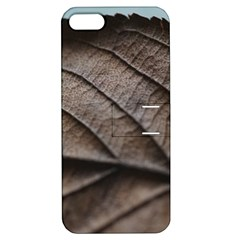 Leaf Veins Nerves Macro Closeup Apple iPhone 5 Hardshell Case with Stand
