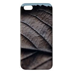 Leaf Veins Nerves Macro Closeup Apple Iphone 5 Premium Hardshell Case
