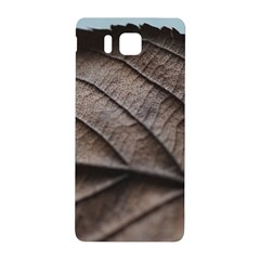 Leaf Veins Nerves Macro Closeup Samsung Galaxy Alpha Hardshell Back Case