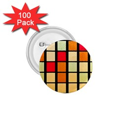 Mozaico Colors Glass Church Color 1 75  Buttons (100 Pack)
