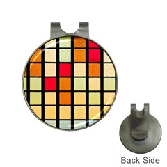 Mozaico Colors Glass Church Color Hat Clips with Golf Markers