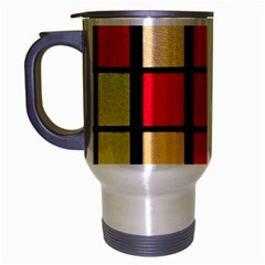 Mozaico Colors Glass Church Color Travel Mug (Silver Gray)