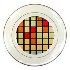 Mozaico Colors Glass Church Color Porcelain Plates
