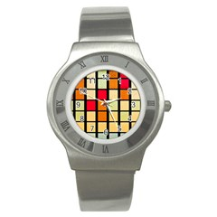 Mozaico Colors Glass Church Color Stainless Steel Watch