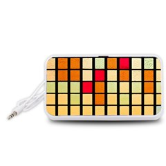 Mozaico Colors Glass Church Color Portable Speaker (White)