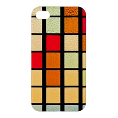 Mozaico Colors Glass Church Color Apple iPhone 4/4S Premium Hardshell Case