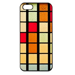 Mozaico Colors Glass Church Color Apple iPhone 5 Seamless Case (Black)
