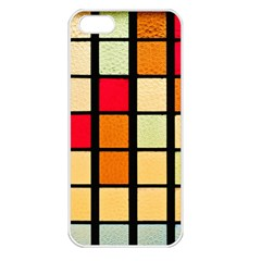 Mozaico Colors Glass Church Color Apple Iphone 5 Seamless Case (white)