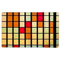 Mozaico Colors Glass Church Color Apple iPad 3/4 Flip Case