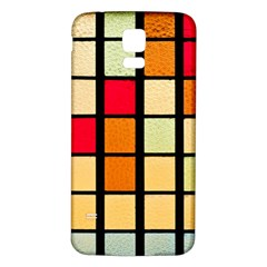 Mozaico Colors Glass Church Color Samsung Galaxy S5 Back Case (White)