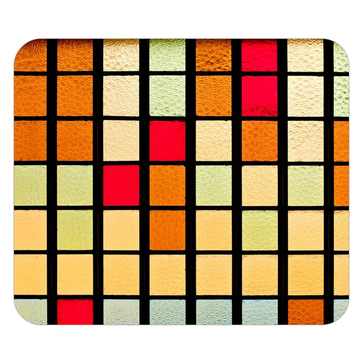 Mozaico Colors Glass Church Color Double Sided Flano Blanket (Small)