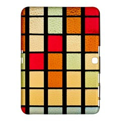 Mozaico Colors Glass Church Color Samsung Galaxy Tab 4 (10 1 ) Hardshell Case