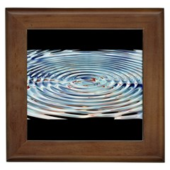 Wave Concentric Waves Circles Water Framed Tiles
