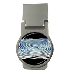 Wave Concentric Waves Circles Water Money Clips (round)