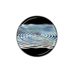 Wave Concentric Waves Circles Water Hat Clip Ball Marker (4 pack)