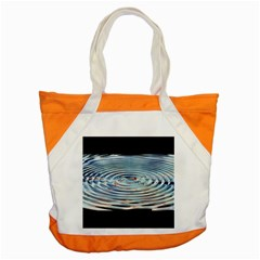 Wave Concentric Waves Circles Water Accent Tote Bag