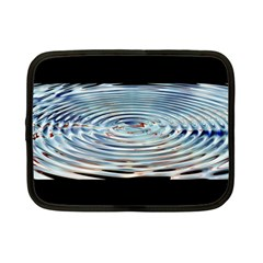 Wave Concentric Waves Circles Water Netbook Case (Small)