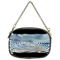 Wave Concentric Waves Circles Water Chain Purses (One Side)