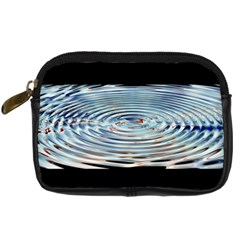 Wave Concentric Waves Circles Water Digital Camera Cases