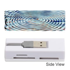 Wave Concentric Waves Circles Water Memory Card Reader (Stick)