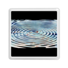 Wave Concentric Waves Circles Water Memory Card Reader (square)