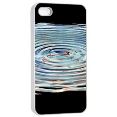 Wave Concentric Waves Circles Water Apple Iphone 4/4s Seamless Case (white)