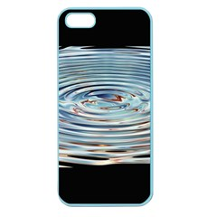 Wave Concentric Waves Circles Water Apple Seamless Iphone 5 Case (color)
