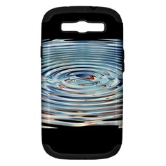 Wave Concentric Waves Circles Water Samsung Galaxy S Iii Hardshell Case (pc+silicone)