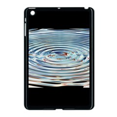 Wave Concentric Waves Circles Water Apple Ipad Mini Case (black)