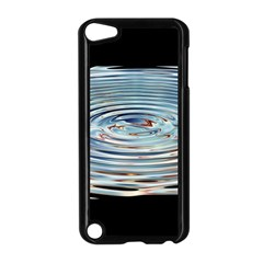 Wave Concentric Waves Circles Water Apple iPod Touch 5 Case (Black)