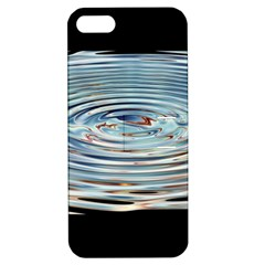 Wave Concentric Waves Circles Water Apple Iphone 5 Hardshell Case With Stand