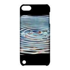 Wave Concentric Waves Circles Water Apple iPod Touch 5 Hardshell Case with Stand