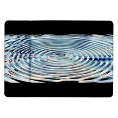 Wave Concentric Waves Circles Water Samsung Galaxy Tab 10 1  P7500 Flip Case