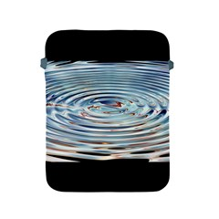 Wave Concentric Waves Circles Water Apple iPad 2/3/4 Protective Soft Cases
