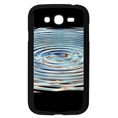 Wave Concentric Waves Circles Water Samsung Galaxy Grand DUOS I9082 Case (Black)