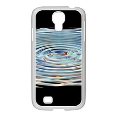 Wave Concentric Waves Circles Water Samsung GALAXY S4 I9500/ I9505 Case (White)