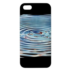 Wave Concentric Waves Circles Water iPhone 5S/ SE Premium Hardshell Case