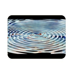 Wave Concentric Waves Circles Water Double Sided Flano Blanket (mini)