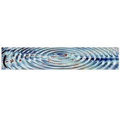 Wave Concentric Waves Circles Water Flano Scarf (Large)