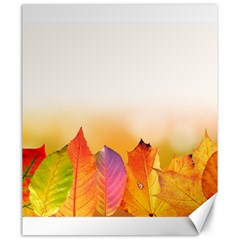 Autumn Leaves Colorful Fall Foliage Canvas 20  x 24