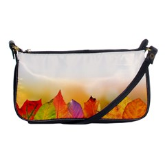 Autumn Leaves Colorful Fall Foliage Shoulder Clutch Bags