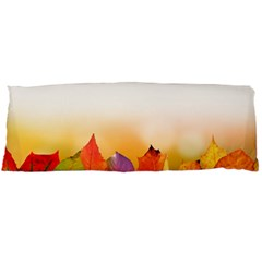 Autumn Leaves Colorful Fall Foliage Body Pillow Case (dakimakura)