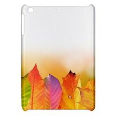 Autumn Leaves Colorful Fall Foliage Apple iPad Mini Hardshell Case