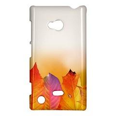 Autumn Leaves Colorful Fall Foliage Nokia Lumia 720
