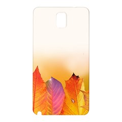Autumn Leaves Colorful Fall Foliage Samsung Galaxy Note 3 N9005 Hardshell Back Case
