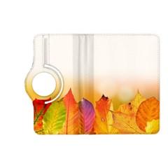 Autumn Leaves Colorful Fall Foliage Kindle Fire HD (2013) Flip 360 Case
