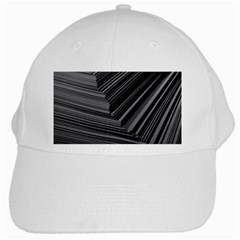 Paper Low Key A4 Studio Lines White Cap