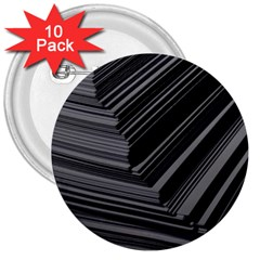 Paper Low Key A4 Studio Lines 3  Buttons (10 pack)