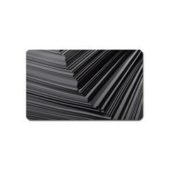 Paper Low Key A4 Studio Lines Magnet (name Card)